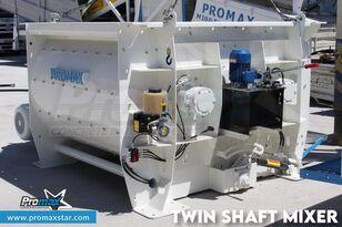 جديد خلاطة الخرسانة PROMAX 3 m3 TWIN SHAFT MIXER