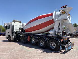 جديدة خلاطة الخرسانة ALIM mixer semi trailer concrete mixer semi-trailer