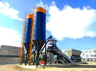 جديد ماكينة صناعة الخرسانة FABO FABOMIX COMPACT-120 CONCRETE PLANT | CONVEYOR TYPE