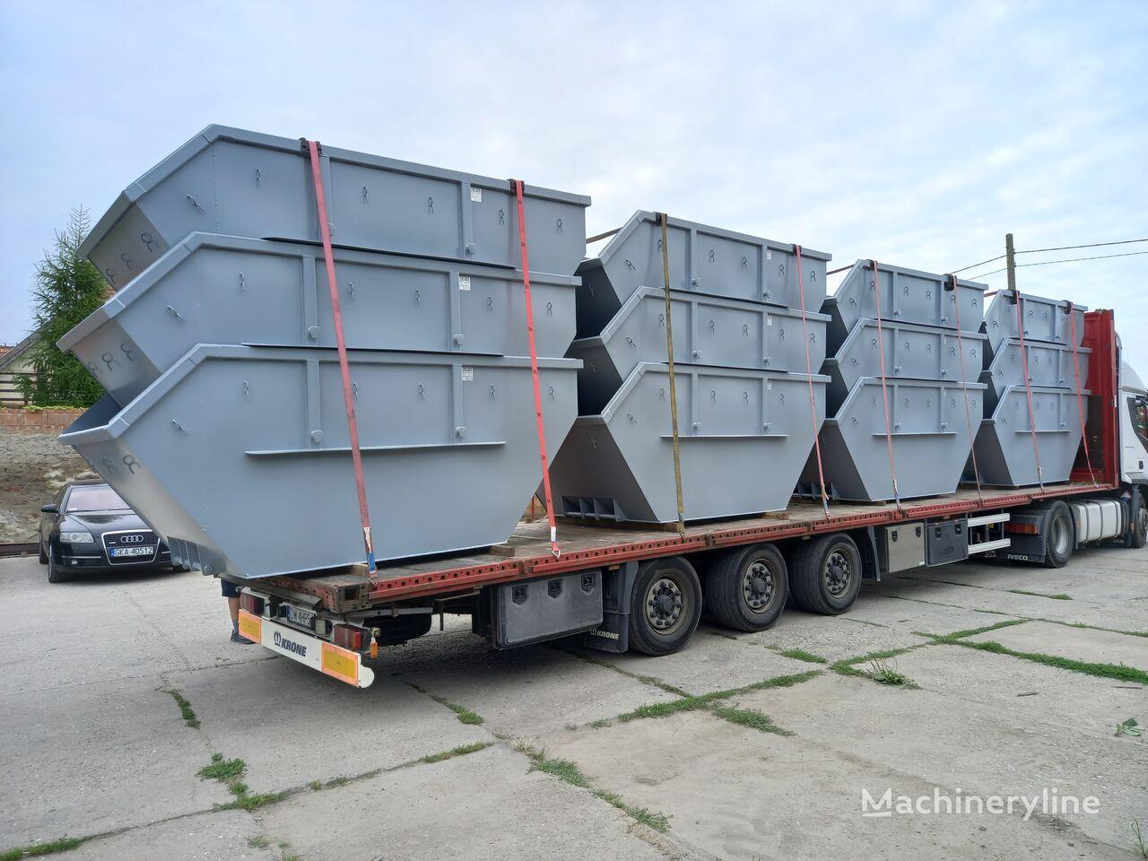جديد حاوية مخلفات البناء Absetzcontainer Absetzmulde Container Mulde 7cbm offen DIN 30720